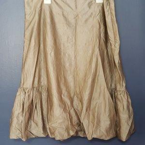Metallic Adrienne Vittadini skirt